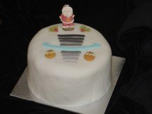 Xmas cake photo