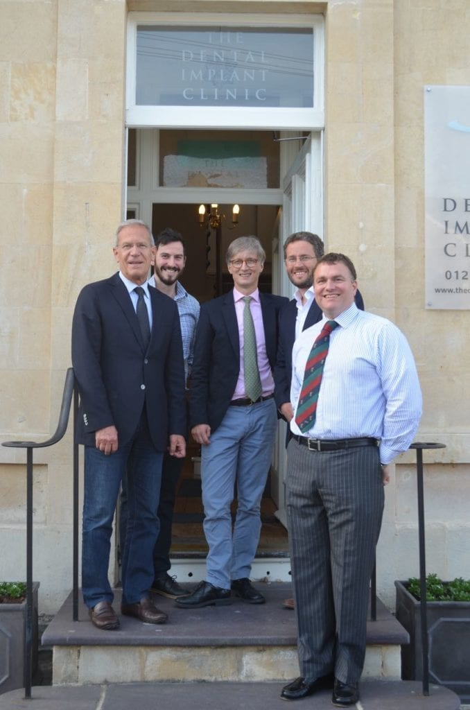 Urs Belser, International Lecturer, visits  The Dental Implant Clinic