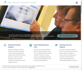 The Dental Implant Clinic's New Website